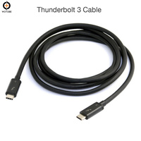 Thunderbolt 3 USB C Cable USB 3.1 Type C to type C dual 4K (4096 *2160) 60Hz display The laptop 100W charging power adapter