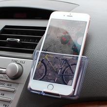 Caso de Telefone Celular Caixa de Armazenamento Auto carro Carregador Cradle Titular Saco Organizador de Bolso