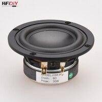 HIFIDIY LIVE hifi 3.6 3.5 inch 93mm Full frequency speaker unit 8OHM 30W High Alto bass loudspeaker H3A B