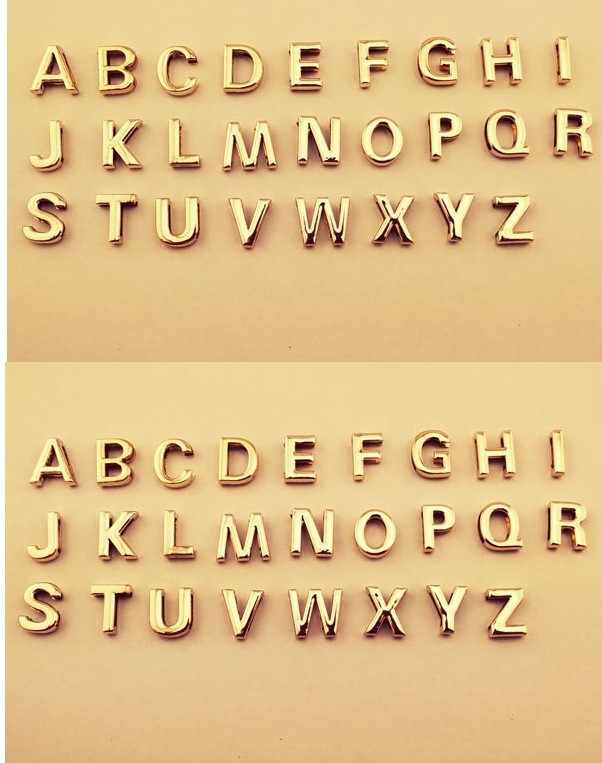 Ahmed Nieuwe Eenvoudige Goud Zilver Kleur A-Z 26 Letters Hanger Kettingen voor Vrouwen DIY Naam Choker Ketting Sieraden party geschenken