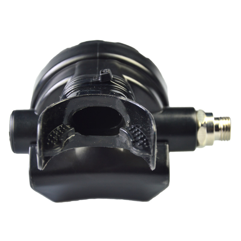 2nd Stage Scuba Diving Regulator Octopus Dive Gear Equipment Accessory With Low Pressure Hose Silicone Mouthpiece BS112