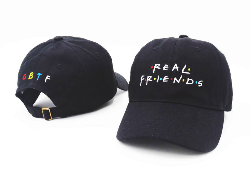 2017 Brand Real Friends Baseball Cap Trending Rare Hat I Feel Like Pablo Kanye Snapback Cap Tumblr Hip Hop Dad Hat Men Women i feel like pablo cappello in bordeaux yeezus yeezy kanye west the life of pablo baseball caps