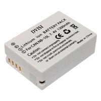 DVISI 7.4V 1300mAh بطاريات NB-10L ملحوظة 10L كاميرا بطارية لكاميرات كانون SX40 HS SX40HS SX50 HS SX50HS G1 X G1X g15 G16 SX60 HS G3X