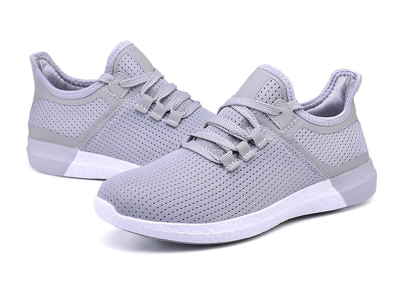 UNN Unisex Running Shoes Men New Style Breathable Mesh Sneakers Men Light Sport Outdoor Women Shoes Black Size EU 35-44 41