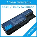 New 8 cell 5200mah laptop battery for acer Aspire 7738G 7736ZG 5730ZG AS07B72 AS07B52 AS07B71
