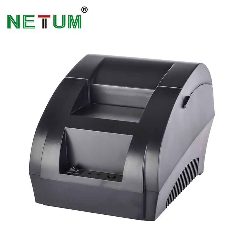 NETUM 58mm Thermal Receipt Printer 58mm Usb Thermal Printer Usb Pos System Supermarket NT-5890K(China)