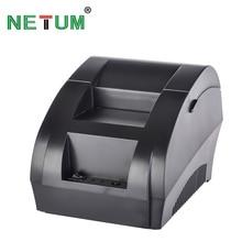 NETUM 58 мм Термопринтер 58 мм usb термопринтер usb pos система супермаркет NT-5890K