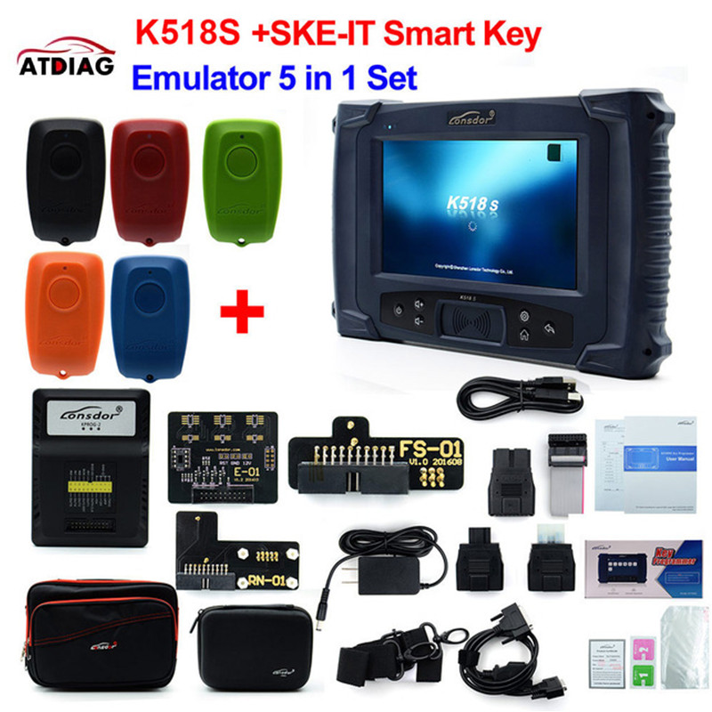 Image 2 - Original LONSDOR K518S Key Programmer Basic Version with  Update-in Auto Key Programmers from Automobiles & Motorcycles on