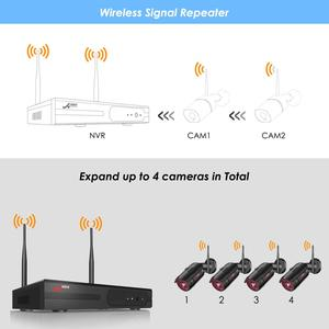 Image 5 - ANRAN 1080P אבטחה אלחוטית מצלמה ערכת 4CH NVR מערכת ראיית לילה חיצוני Wifi מעקב מצלמה מערכת טלוויזיה במעגל סגור וידאו ערכת