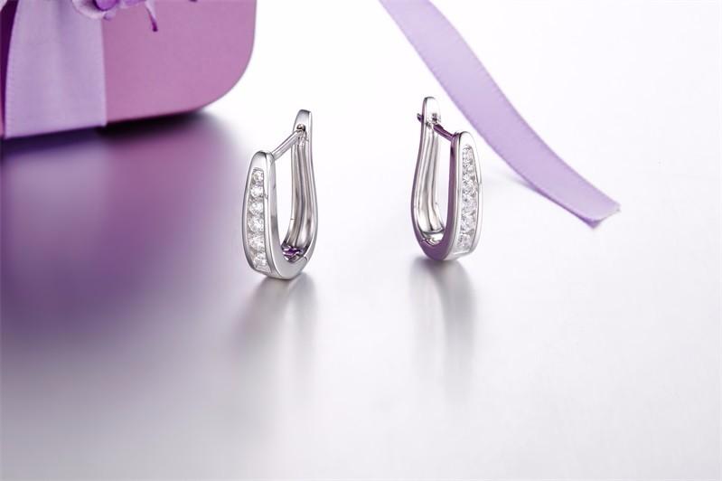Special Offer ! 925 Sterling Silver Stud Earring , Romantic Amethyst Stud Earring For Women Best Valentine\'s Day gift Aliexpress (9)