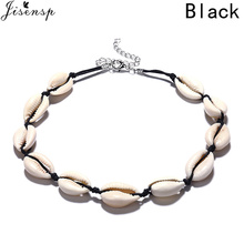 Jisensp 2019 New Arrival Natural Seashell Necklace for Women Bohemian Simple Shell Necklaces & Pendants Jewelry Gift