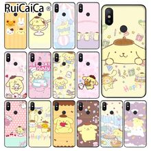 Ruicaica Sanrio pompompurin cartoon girl Coque Phone Case for Xiaomi Mi 6 Note3 8 8SE Redmi 5 5Plus Note4 4X Note5 Cellphones