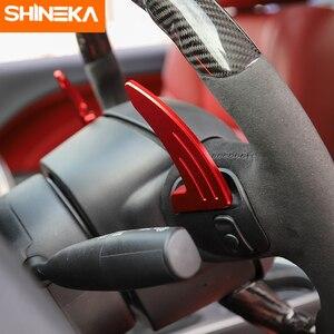 Image 2 - Shinekaインテリアモールディングダッジチャレンジャー 2015 + 車のステアリングホイールのシフトパドル用ダッジチャージャー 2015 +