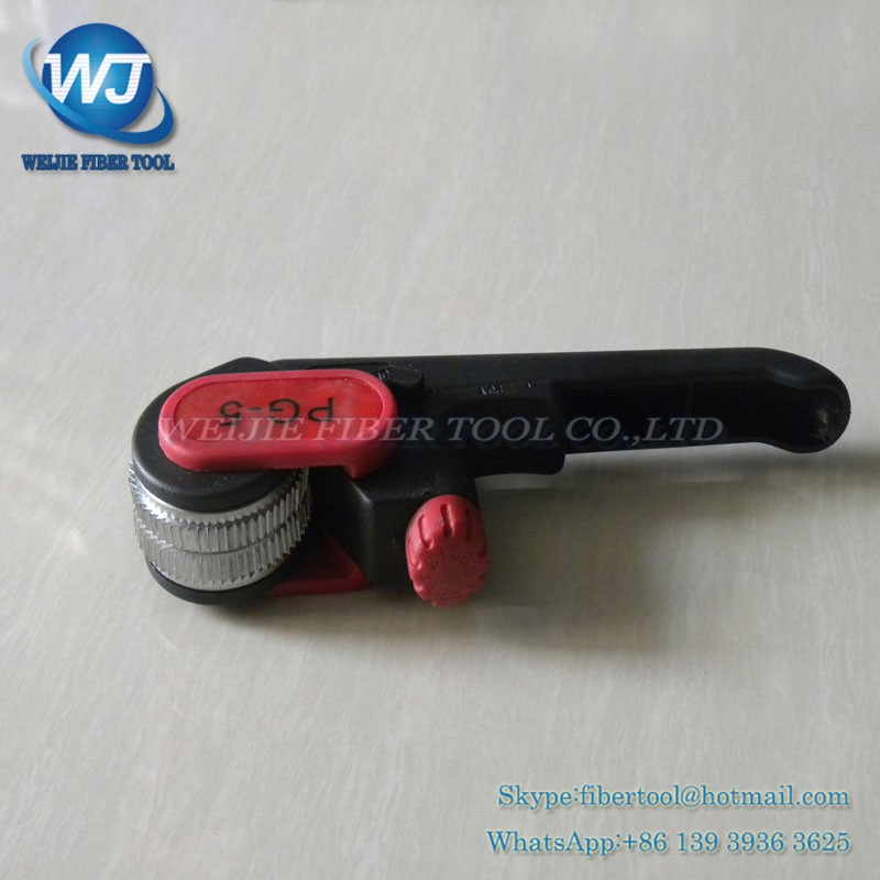 Fiber optic cable protective layer stripping device PG-5 (8)