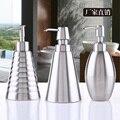 Qualidade 304 aço inoxidável dispensador de sabão de banho desinfetante para as mãos garrafa garrafa emulsão shampoo sub-engarrafamento Dispensadores