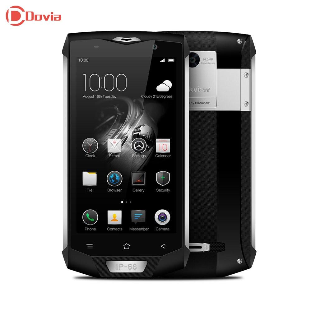 Blackview BV8000 Pro 4g Smartphone 5.0 pouce MTK6757 Octa Core 6 gb RAM 64 gb 16.0MP Arrière Caméra NFC OTG D'empreintes Digitales Mobile téléphone