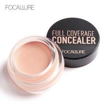 FOCALLRUE Base makeup Concealer Cream Face Cover Pore Cosmetic Natural Makeup