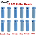 12Pcs Grinding Heads Replacement Roller Grinding Head Foot Pedicure Exfoliating Heel Cuticles Removal Rollers Head Wholesale P00