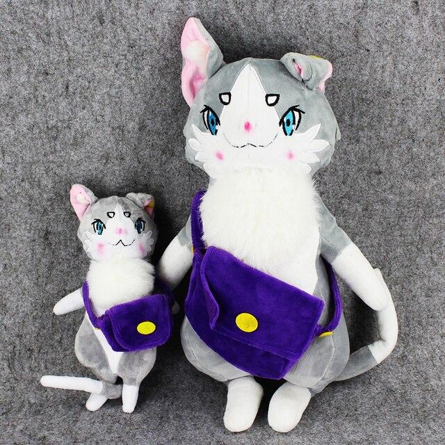 Newest 25cm/40cm Hajimeru Isekai Seikatsu Natsuki Subaru Life Different World from Zero Puck Cat Rem Emilia Plush Doll Cat Toys