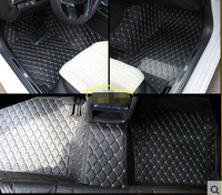 New Arrival Full Set Special Car Floor Mats For Cadillac CT6 2017 Non Slip Waterproof Rugs