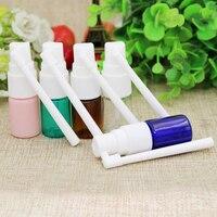 10/50/100 adet Boş 5 ml Renkli Şeffaf Plastik Burun Küçük Rotasyon Mist Sprey Şişeleri Makyaj DIY alt şişeleme mini flakon