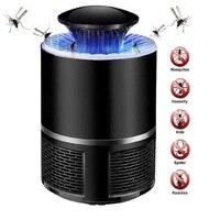 אלקטרוני USB מטען יתושים רוצח מנורה נגד יתושים טוס משאף חרקים אור