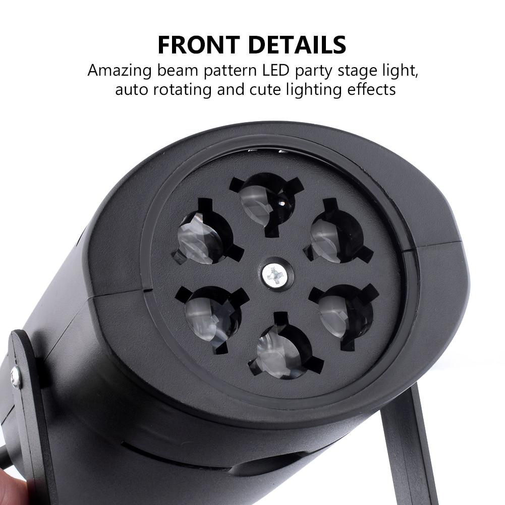 Christmas Projector DJ LED Stage Light Heart Snow Spider Bowknot Bat Landscape Party Lights Garden Lamp Outdoor Lighting Sale
