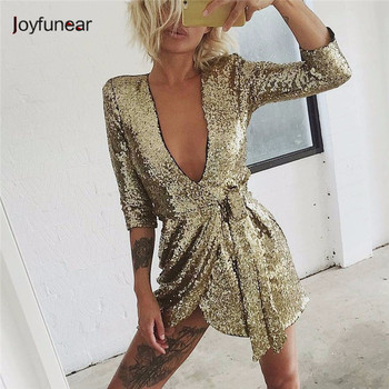 New Style Summer irregular fold  mini Dress Women Sexy Club Dress Party Night Club Dress Vestido Robe Femme Party  Sequin Dress