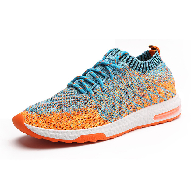 2018 Newest Running Shoes for Men Breathable Outdoor Sport Trainers Sneakers  Spring Cushioning Male Shockproof Sole Sneakers Men-in Running Shoes from  ... 833e7bc8b34b