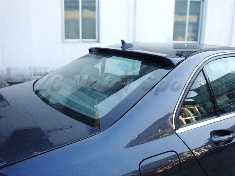 2008-2013 Mercedes Benz W204 C-Class Sedan Coupe AS Style Roof Spoiler CF (20).jpg