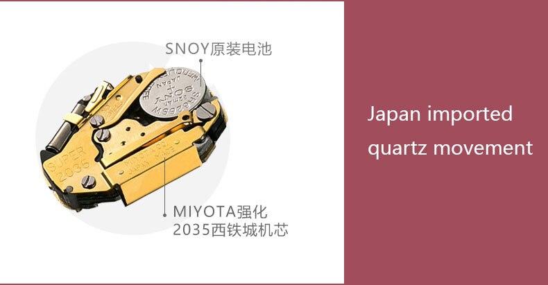 ساعة يد نسائية مرصعة ب 12 لون من حجر الراين 11