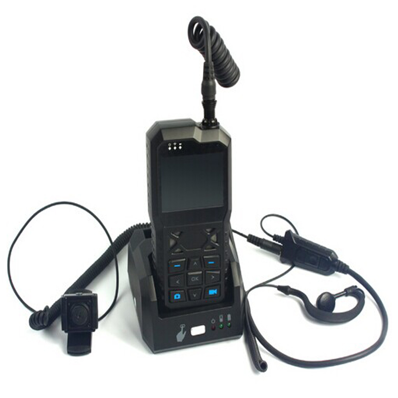 3G Portable Mobile Video Recorder with WCDMA/WIFI & GPS module & Mini Cam & Headset for Realtime AV Monitoring & 2 way Intercom