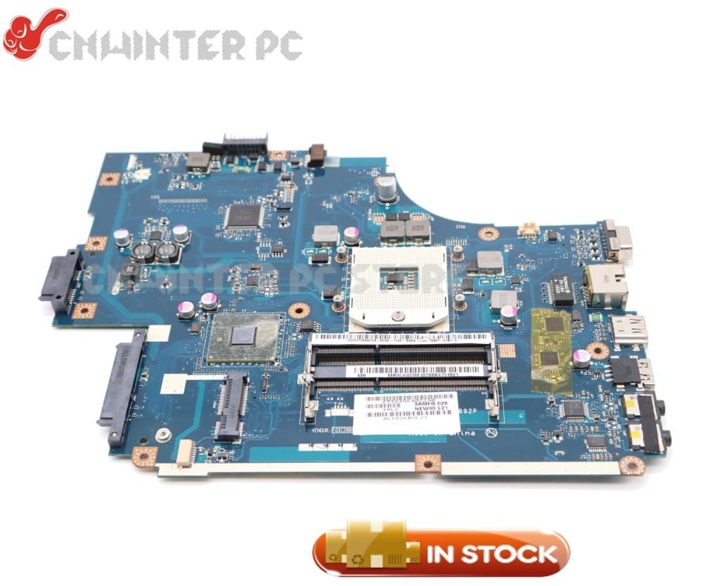 NOKOTION Pour Acer aspire 5742 5742g Pour Passerelle NV59 Mère D'ordinateur Portable MBWJU02001 NEW70 LA-5892P HM55 Livraison CPU