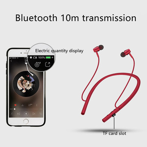 Image 4 - BGreen Bluetooth Sport Earphones Wireless Stereo Running Cycling Sports Headset Built in MP3 Player Support Micro SD TF Card