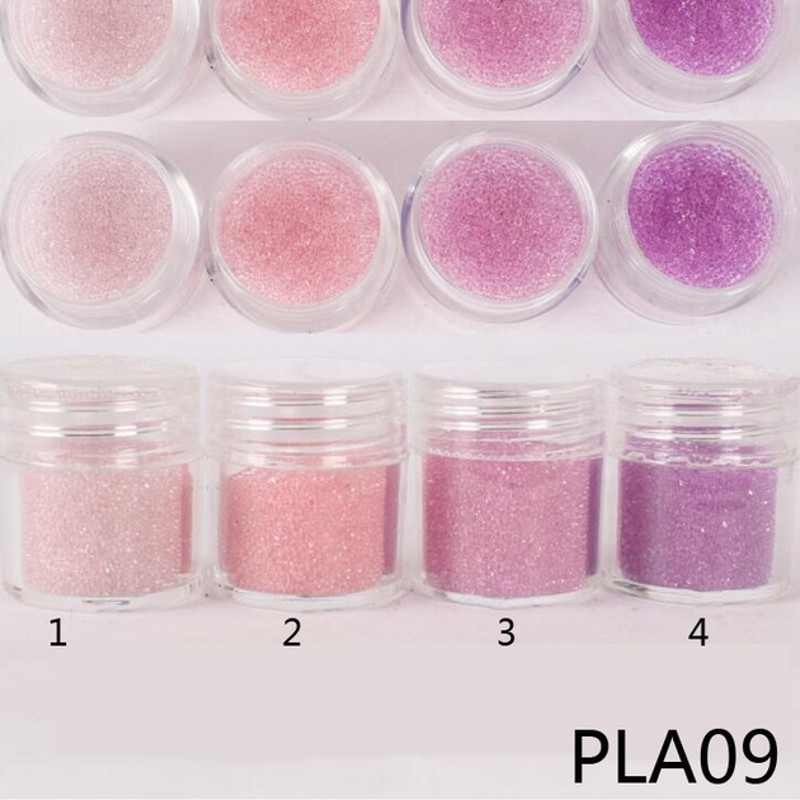 1 Pot 10g Caviar Beads Transparent Pink Purple Glass 6mm 8mm Micro Crysta Bead New AB Glitter Crystal Glass Caviar Beads 09 in Rhinestones Decorations from Beauty Health
