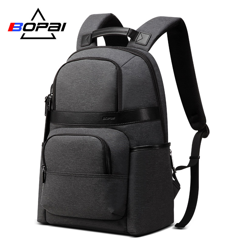 BOPAI Water Repellent Nylon Korean School Backpacks for ...