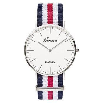 Classic brand Relogio feminino Geneva Quartz Watch Men Women casual Nylon strap watches Fashion Ladies watch Unisex reloj mujer
