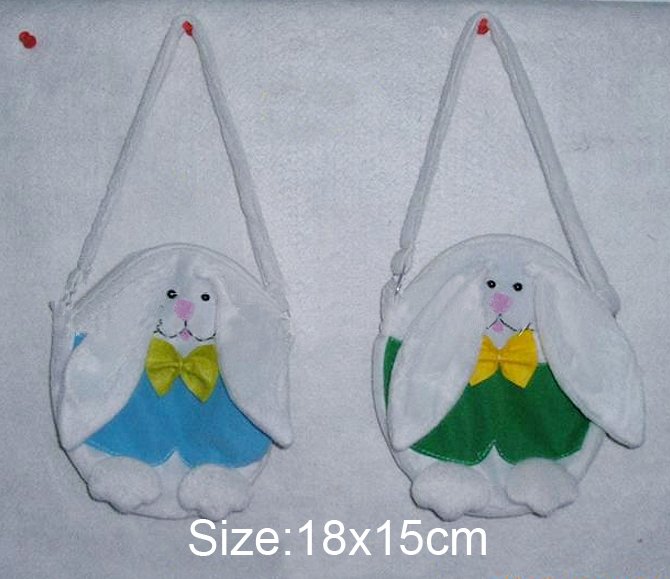 Easter Gift Bunny Gift Bag 18x15cm Easter Eggs Gifts Shopping Carrying Bag