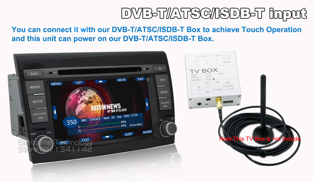 Discount 1024*600 8 Cores Octa Core Pure Android 6.01 Car DVD Player For Fiat Bravo 2007 2008 2009 2010 2011 2012 With Rear View Camera 22