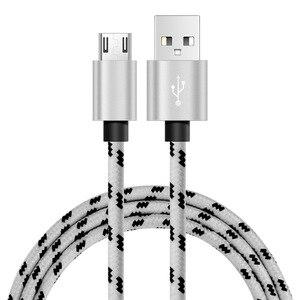 Image 5 - สาย USB Micro USB 1.5m 2m ชาร์จไนลอน USB Sync ข้อมูลโทรศัพท์มือถือ Android Adapter สำหรับ samsung Cable