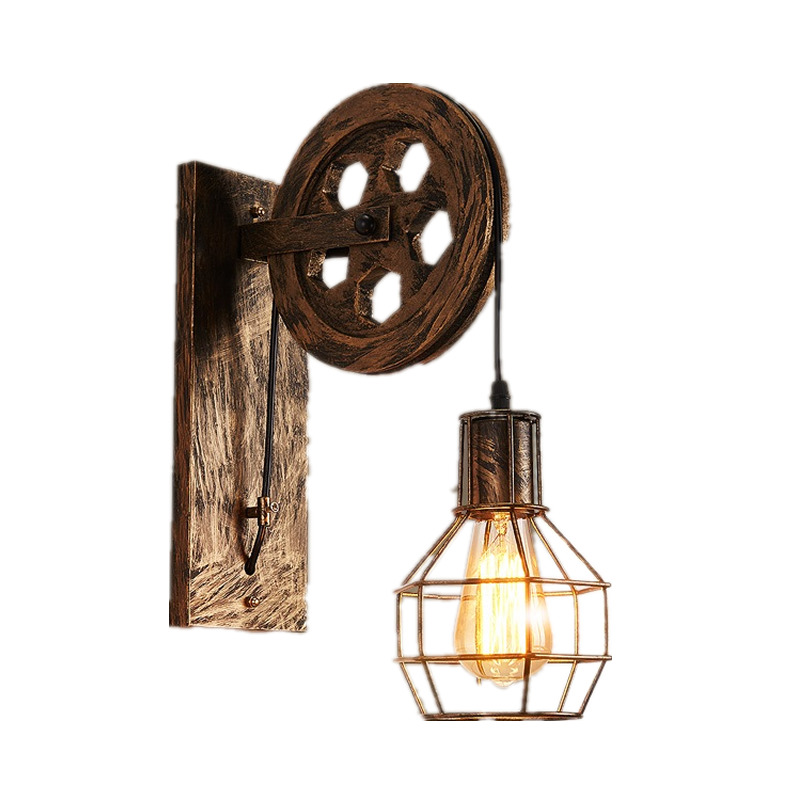Lampara De Pared Arandela Lampe Industrial Decor Wandlampen Light For Home Applique Murale Luminaire Wandlamp Wall Lamp