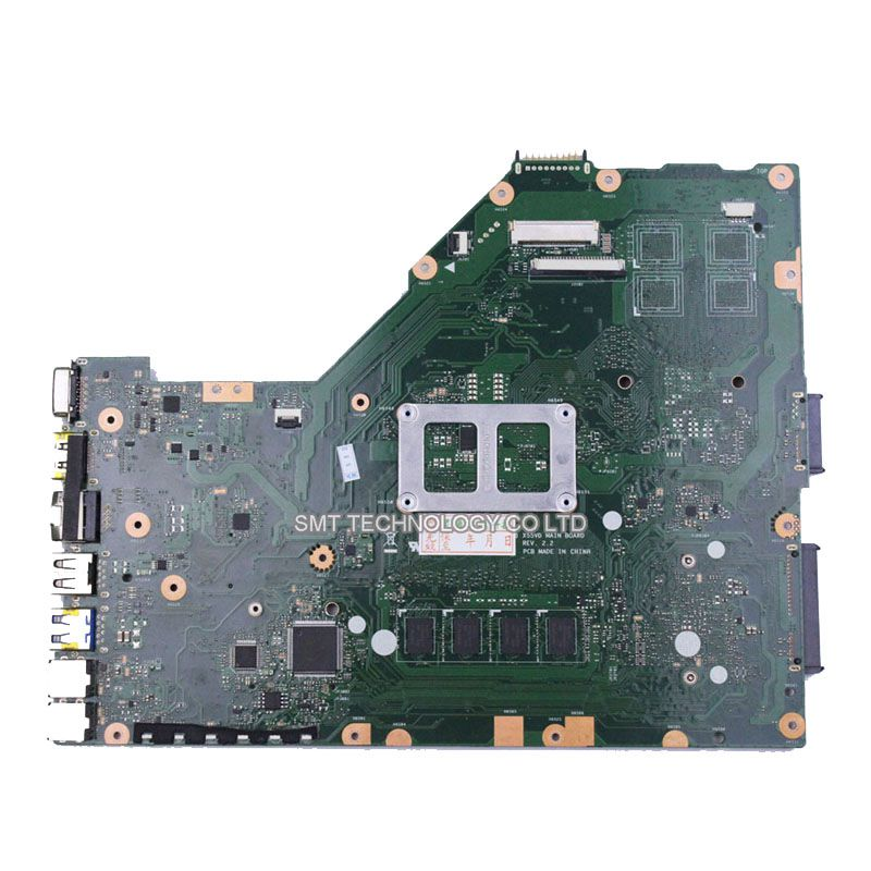 ФОТО X55VD Motherboard Mainboard for ASUS Laptop X55C PM 60-N0OMB1900-A06 60-N0OMB1100-C02 60-N8OMB1701-B05 13GNA01AM010-1 Work Well
