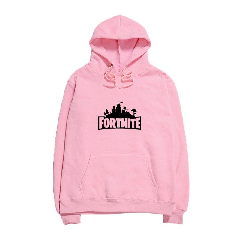 Fortnite Hoodie Sweatshirt Men Women Hooded Pullover Fleece Hoodies Fortnite Hip Hop Male Sweatshirts Letter Print Hoody