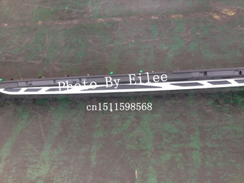 High quality FOR aluminium KIA sportage R 2010 2011 2012 2013 2014 Running board side step Nerf bar