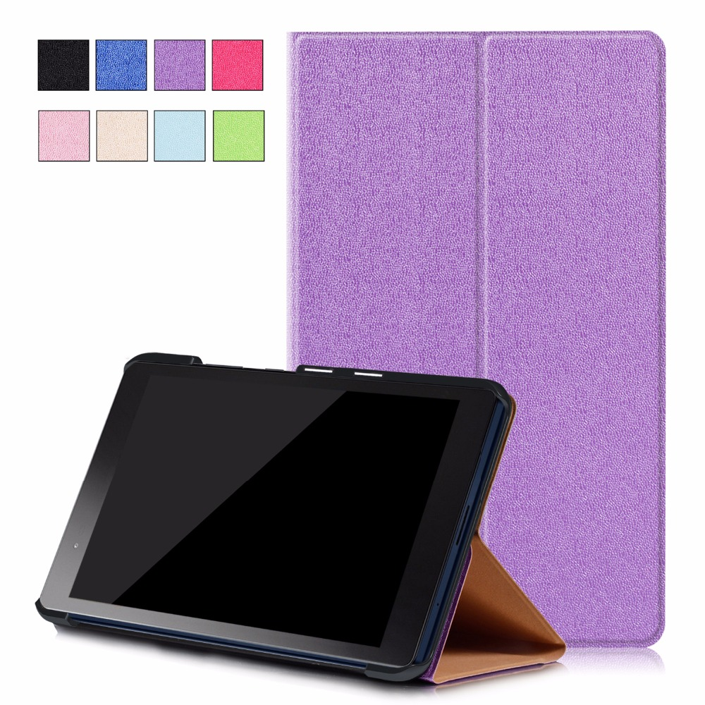 Fashion Casual Folio Case For Lenovo P8 TB-8703F Book Flip Stand Cover Case for Lenovo Tab 3 8 Plus 8inch Wake up Sleep Function