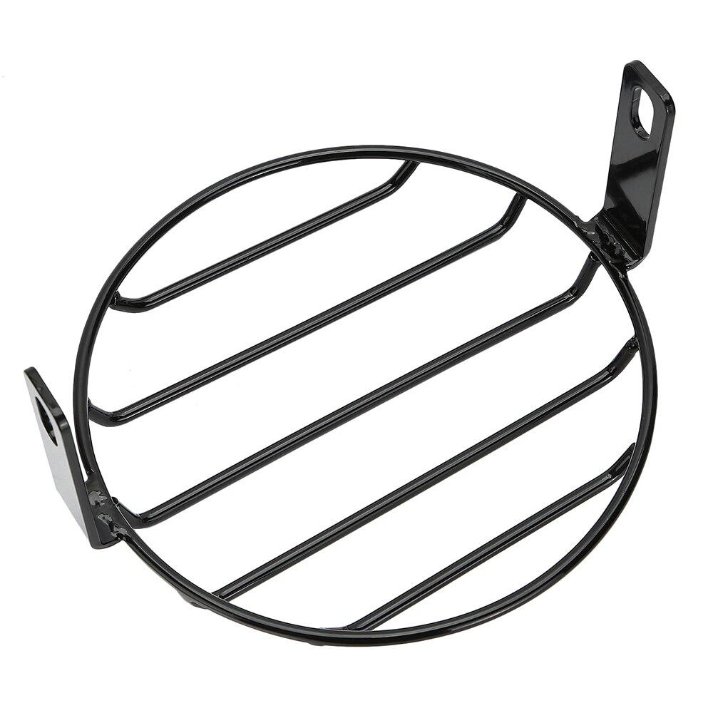 """6,5 """"motorrad scheinwerfer grill cover geändert zaun schutz hallo"""