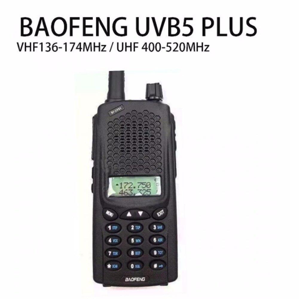 Baofeng UV-B5 Plus talkie-walkie puissance Portable jambon Radio bidirectionnelle VHF UHF