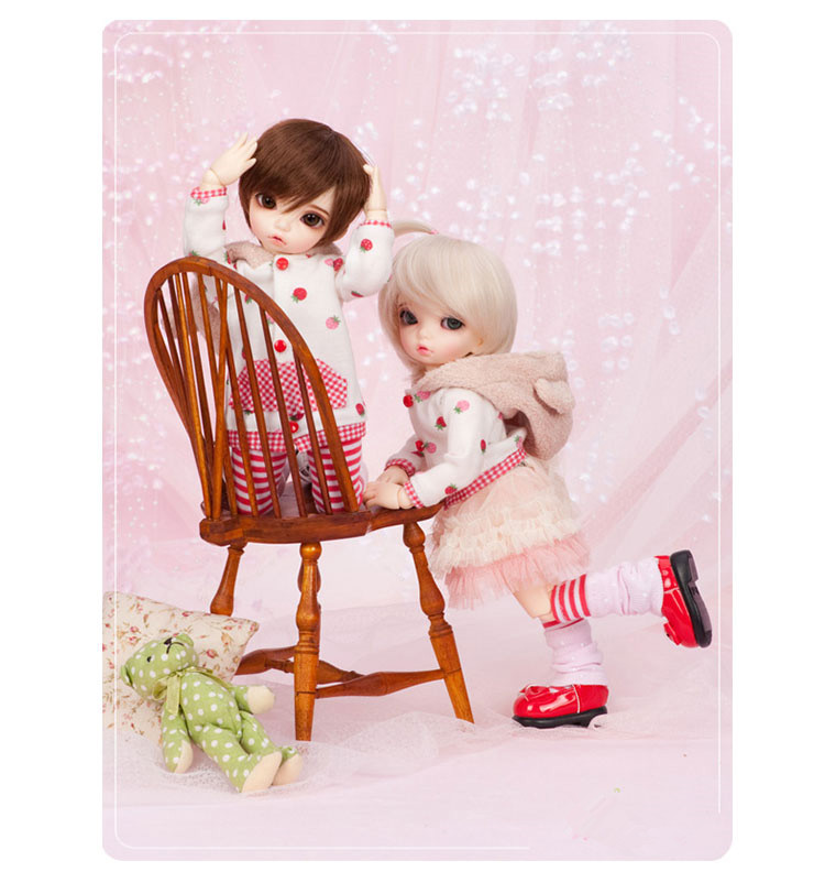 1 6BJD doll Bisou Boy or baby girl free to send eyes can choose eye color