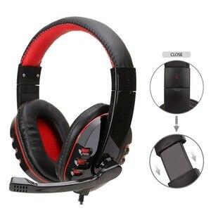 Image 5 - Wired משחקי סטריאו אוזניות USB אוזניות גיימר עם מיקרופון אוזניות גיימר עבור PS4/MP3/PC/מחשב אוזניות עבור גיימר