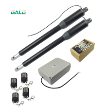 galo 220v/110v Automatic swing door gate actuator opener with video doorbell phone Optional galo ip55 waterproof double arm swing gate opener for home enterprises automatic enter car open door